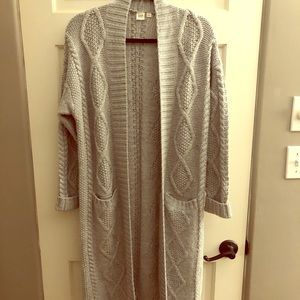 GAP Duster Cardigan. Like new. Size small